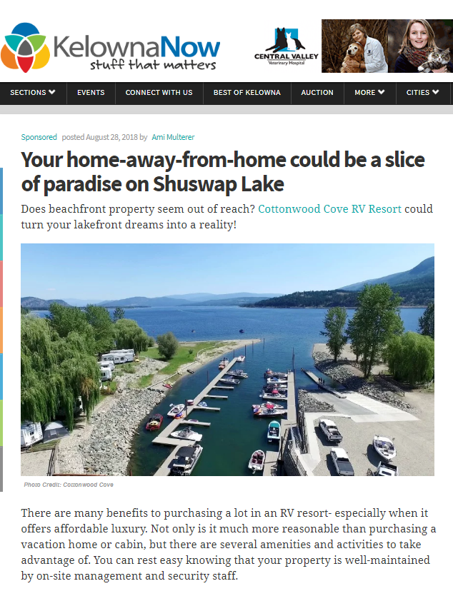 Shuswap Lake RV Resort