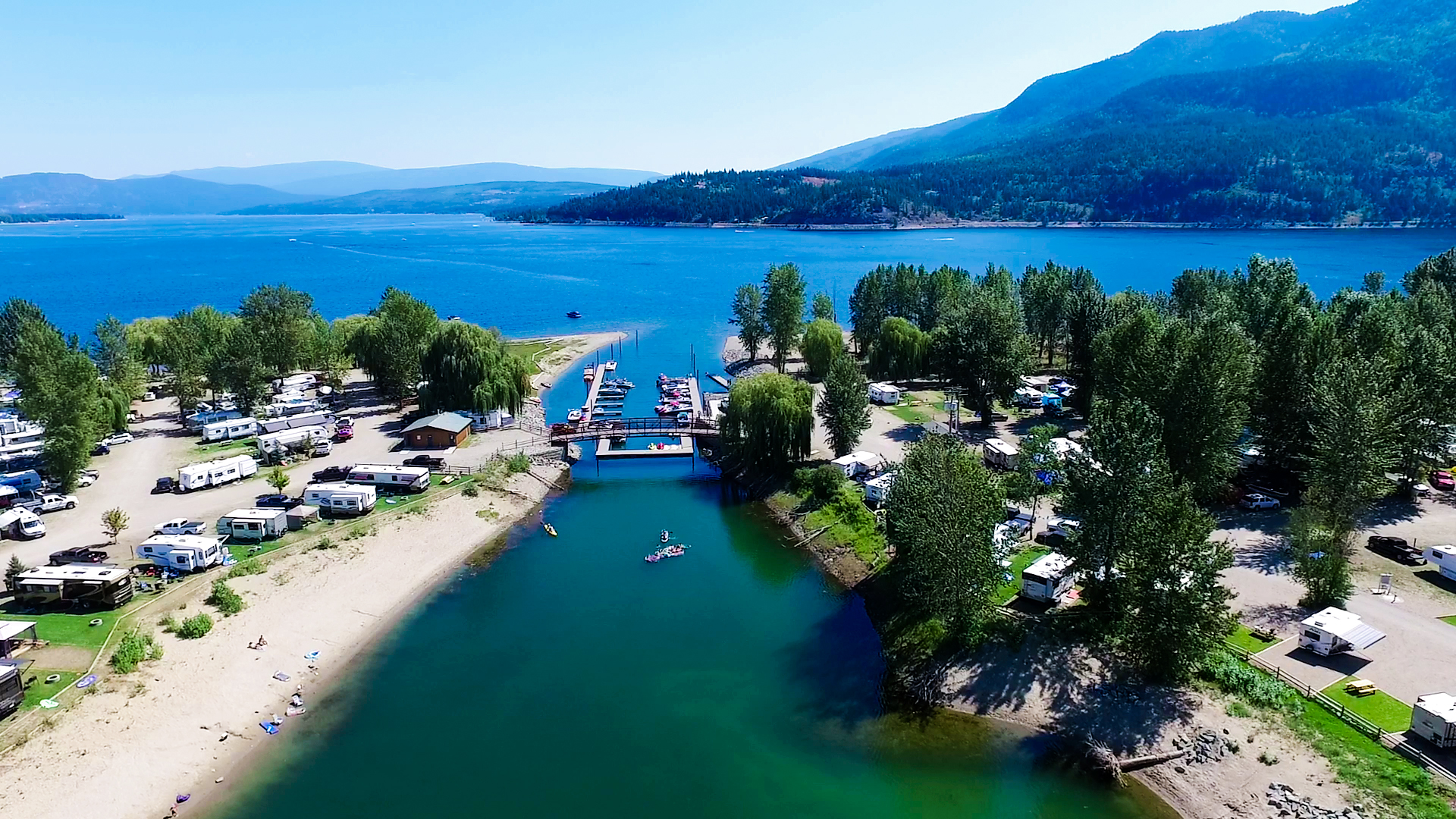Cottonwood Cove RV Resort | Shuswap Lake Camping