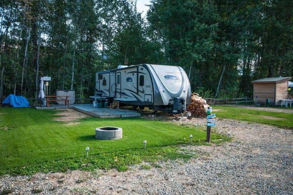 Whole Ownership RV for Sale at RV Resort in the Shuswap. Lee Creek, BC