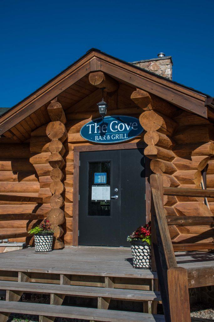 Bar and Grill at RV Resort at Shuswap Lake.