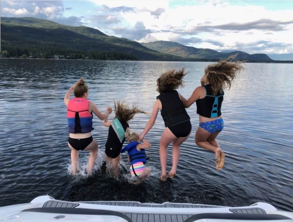 Social Media Photo Contest Winner. RV Resort at Shuswap Lake. RV Lots for Sale.