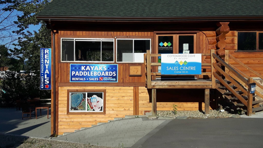 Whole Ownership RV Lots for Sale. RV Resort at Shuswap Lake.  Full service hookups. Vacation-style amenities.