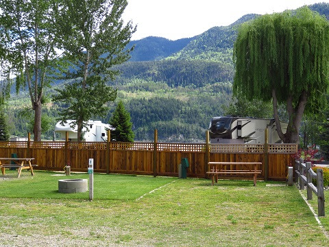 RV Lot for Sale by Shuswap Lake. Located in Lee Creek, BC.