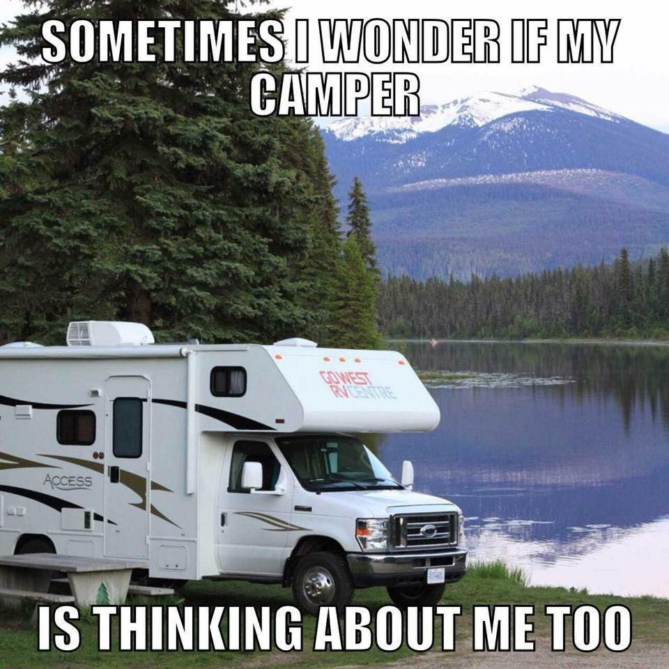 rv camping in the shuswap